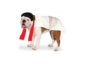 Elvis White Cape Pet Costume