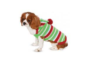 Striped Holiday Pet Sweater