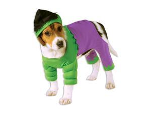 Dog Incredible Hulk Costume