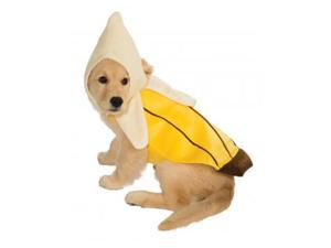 Peeled Banana Pet Costume