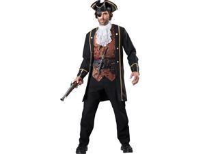 Captain Hook Mens Pirate Costume
