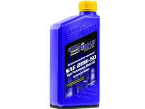 Royal Purple 01250 SAE Multi-Grade Synthetic Motor Oil 20W50 1 Quart