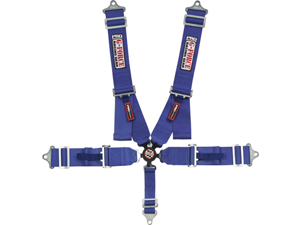 G-FORCE 7000BU 5-Point SFI Camlock Racing Harness Blue