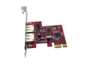 Aleratec 2 Port Express PCIe SATA III 6.0 Gbps Adapter 2 eSATA controller card