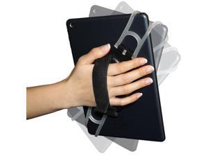 Aleratec Universal Tablet Hand Strap Holder Black for Note 10.1, iPad, 7-10 inch