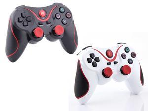 Doubleshock Wireless Cordless Bluetooth Gamepad - USB Controller 2 Color's Pack - for PS3