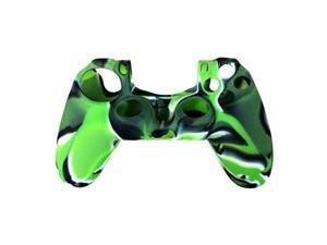 Silicone Soft Cover Case for Sony PS4 PS 4 Playstation 4 Wireless Controller - Green