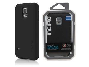 Incipio DualPro Case for Samsung Galaxy S5 - Retail Packaging - Black/Black OEM_SA-526-BLK