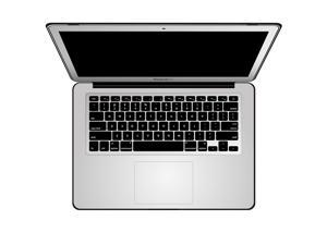 For MacBook Air 13 inch A1466/A1369 Leather Hard Shell case Cover With Keyboard Cover With Screen Protector