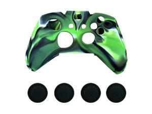 New Silicone Cover Case Skin & Grip Stick Caps For Xbox One Controller