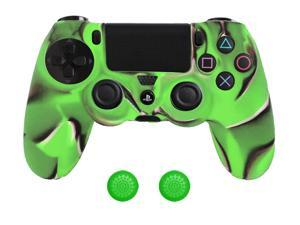 For Sony PS4 Controller Camouflage Protective Silicone Gel Skin Case Cover