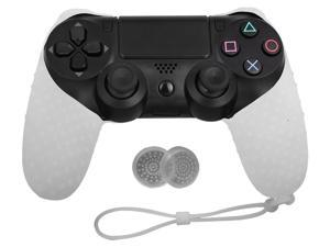 For Sony Playstation 4 PS4 Controller Silicone Cover Case With Grip Stick Caps