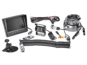 Rear View Camera System One (1) Camera Setup With Trailer Tow Quick Connect/Disconnect Kit Model # RVS-770613-213