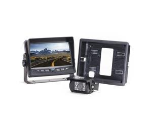 Rear View Camera System | One (1) Camera Setup with Flushmount Monitor RVS-7706133