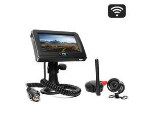 Rear View Safety RVS-091406 Wireless Backup Camera System with Cigarette Lighter Adaptor