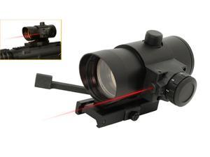 NcStar Paintball 1x40 Red Dot Sight W/ Built in Red Laser - DLB140R