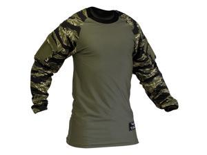 Valken Paintball V-Tac Zulu Jersey - Tiger Stripe - 2XL