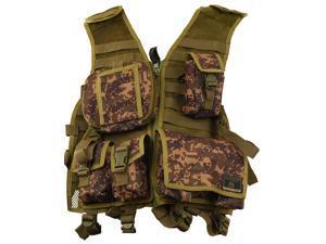 Tippmann Paintball Tactical Gear Assault Vest - XL - Digi Camo