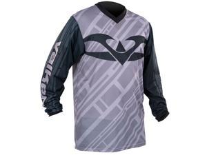 Valken Fate II Paintball Jersey - Black/Grey - 2XL