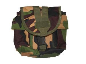 3Skull Paintball Woodland Camo Tank Pouch for Tactical Vests