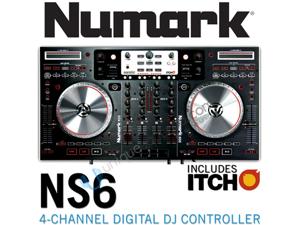 Numark NS6 4-Channel Digital Controller