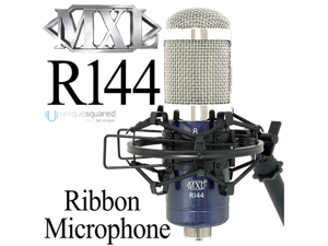 MXL R144 Ribbon Microphone with Shockmount & Case