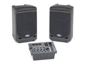 Samson Expedition XP150 Portable Powered PA Speaker & Mixer