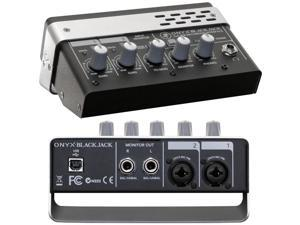 Mackie Onyx Blackjack 2x2 USB Computer Audio Interface