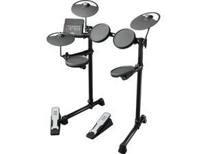 Yamaha DTX400K Complete Electronic Drum Set Kit with Silent Kick Operation