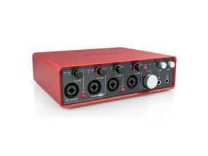 Focusrite Scarlett 18i8 18 In/8 Out USB 2.0 Audio Interface w/ Four Mic Preamps