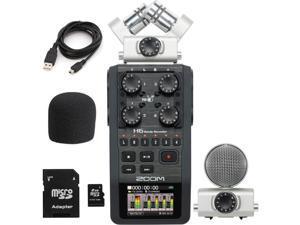 Zoom H6 Handy Recorder w/ Interchangeable Mics