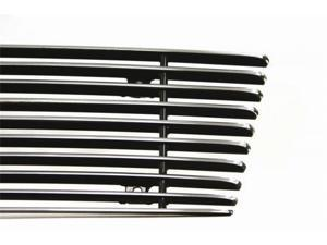 Carriage Works 42752 Bumper Grille  2pc  Polished  [Fog Lamp Inserts]