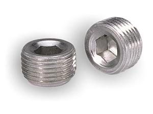 Moroso Performance Aluminum Pipe Plugs