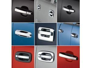 Auto Ventshade 685301 Chrome Door Handle Covers-2 Door
