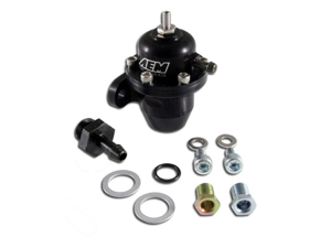 AEM Electronics 25-302BK High Volume Adjustable Fuel Pressure Regulator