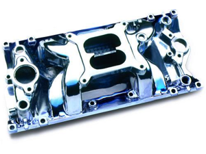Professional Products 52027 SB Chevy Vortec Crosswind Manifold Polished