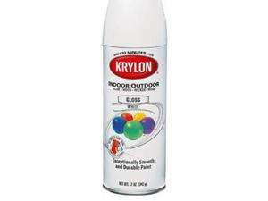 Krylon 51602 Flat Black Interior Exterior Decorator Paints