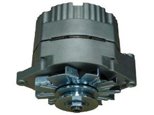 Proform 66434 Natural Finish Alternator, 1-Wire Alternator, GM 100 AMP