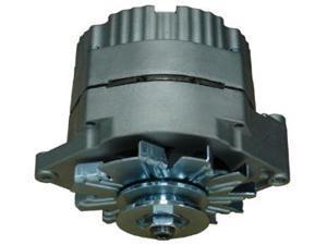 Proform 66434 Natural Finish Alternator, 1-Wire Alternator, GM 100 AMP
