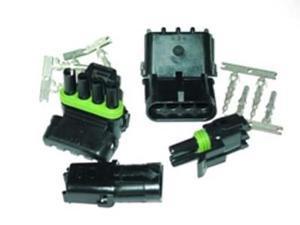 Painless 70406 6 Circuit Male & Female Weatherpack Kit (1 ea.)
