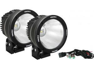 """Vision X CTL-CPZ610KIT 6.72"""" Cannon Black 1 50W LED 10º Narrow Light Kit"""