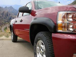 Stampede Truck Accessories 8512-2 Black - Trail Riderz Fender Flares - 4 pc