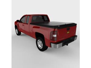 Undercover UC1076 SE Hinged ABS Tonneau Cover, Chevrolet Silverado 6.5'&#59; Black