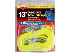 "1 7/8""Emergency Tow Strap, 13' Keeper Tie Downs and Straps 2807 051643028074"