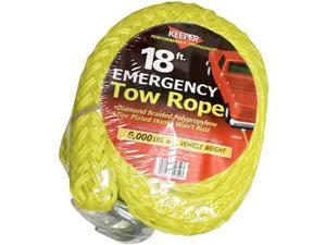 Keeper 02859 18ft Tow Rope 6000 lbs. Max Vehicle Wt.