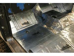 Hushmat 10150 Ultra Insulating/Damping Material Starter Kit - (4) 12in x 12in -