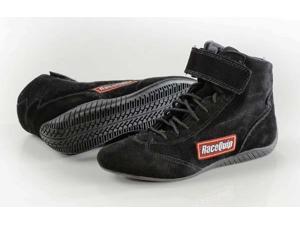 Racequip 30300080 Race Shoe-Black&#59; 8.0