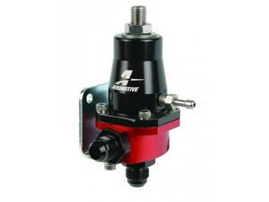 Aeromotive 13105 Compact EFI Regulator, Billet, Adjustable, EFI, (1) AN-6 male