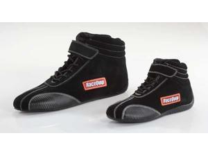 Racequip 30500105 Race Shoe-Black&#59;10.5