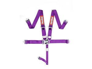 Racequip 711051 L & L 5PT Harness Set Purple